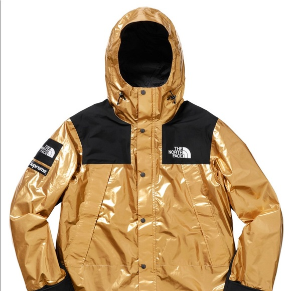 Supreme X The North Face Mountain Parka Gold Ss18